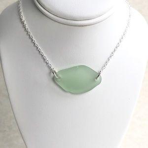 Sea Glass / Beach Glass Necklace - Beach Accessory
